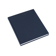 Notebook Hardcover, Smoke Blue 170x200 mm