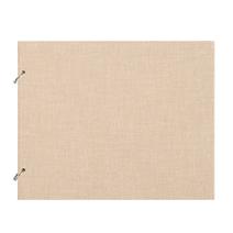 """Photo album """"Columbus"""" Sand Medium Size 27 x 22 cm"""