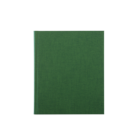 Notebook hardcover, Clover Green