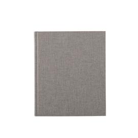 Inbunden Anteckningsbok, Ljusgrå