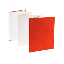 Dragspelsalbum Orange Storlek 15 x 19 cm