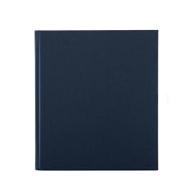 Notizbuch gebunden, Dark blue