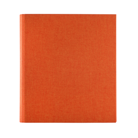 Photo album, Orange