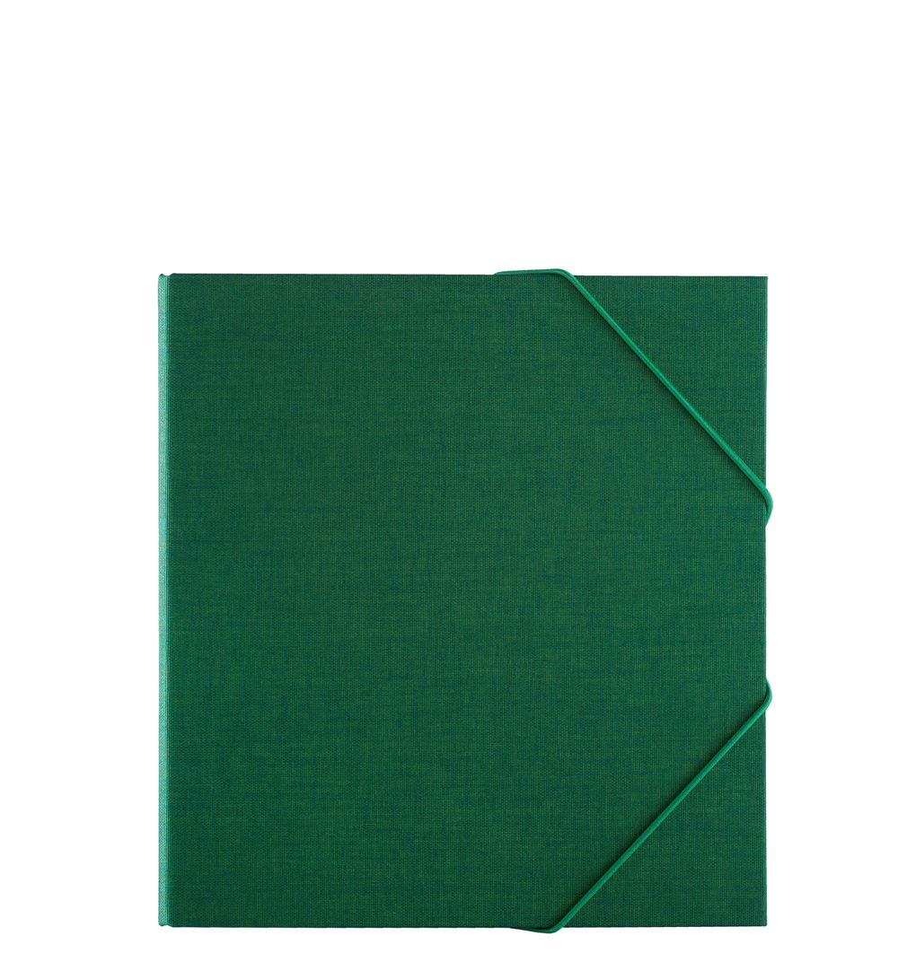 Vävklädd Pärm, Klövergrön