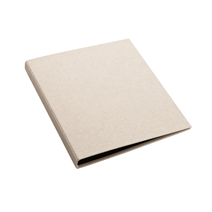"Binder A4 ""Slim"" Sand Brown"