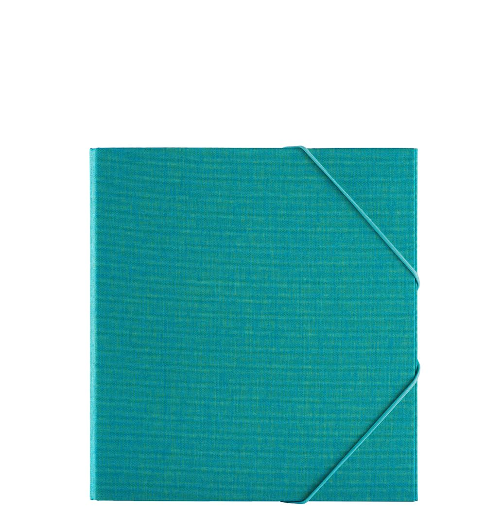Classeur, Turquoise
