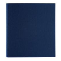 Vävklädd pärm, Mörkblå