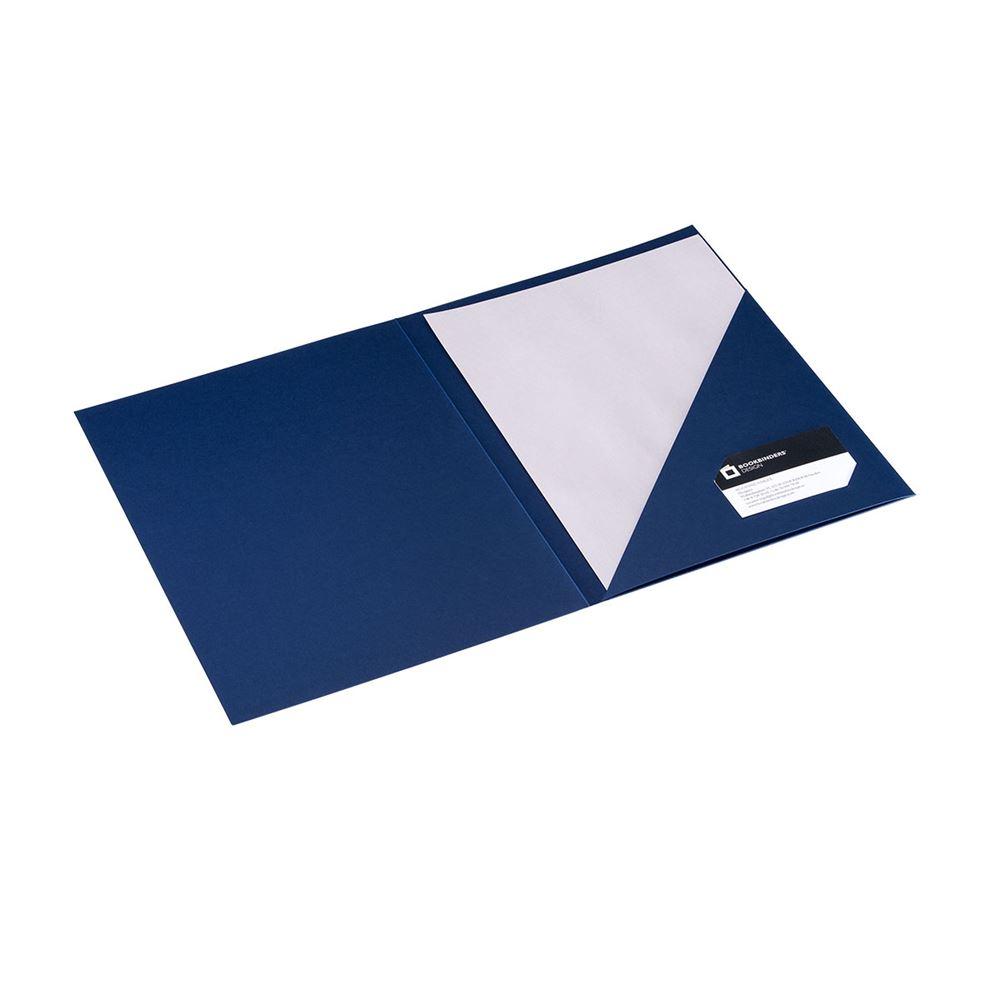 Paper folder, blue