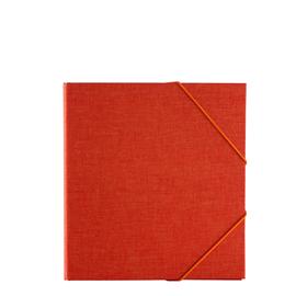 Binder, Orange