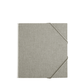 Binder 170*200 Light grey