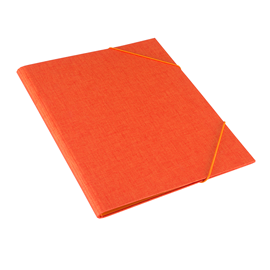 Vävmapp med snodd, Orange