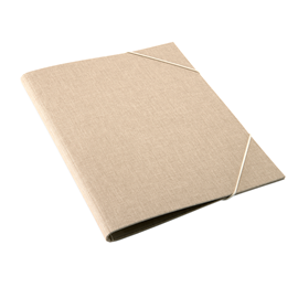 Folder A4 Sand brown