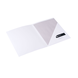 Papiermappe, White