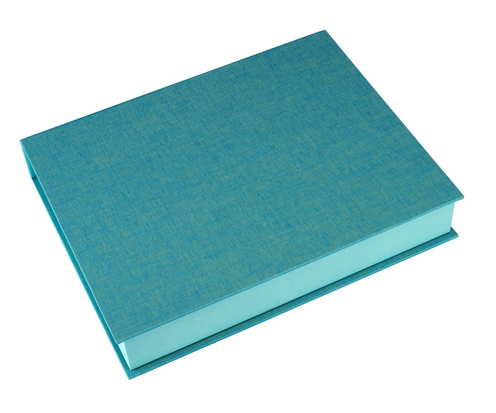 Box A4 turquoise
