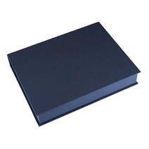 Box A4 Mörkblå
