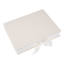 Box A4 ivory plain Size A4