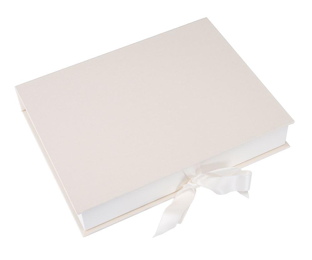 Box A4 ivory plain Size A4