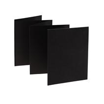 Accordion Album Black Size 15 x 19 cm