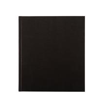 Carnet en toile, noir