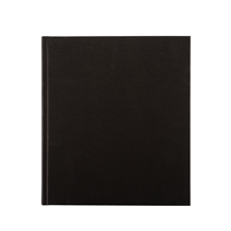 Notebook Hardcover, Black 210x240 mm