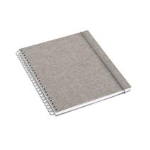 Notizbuch mit Ringbindung, Pebble Grey