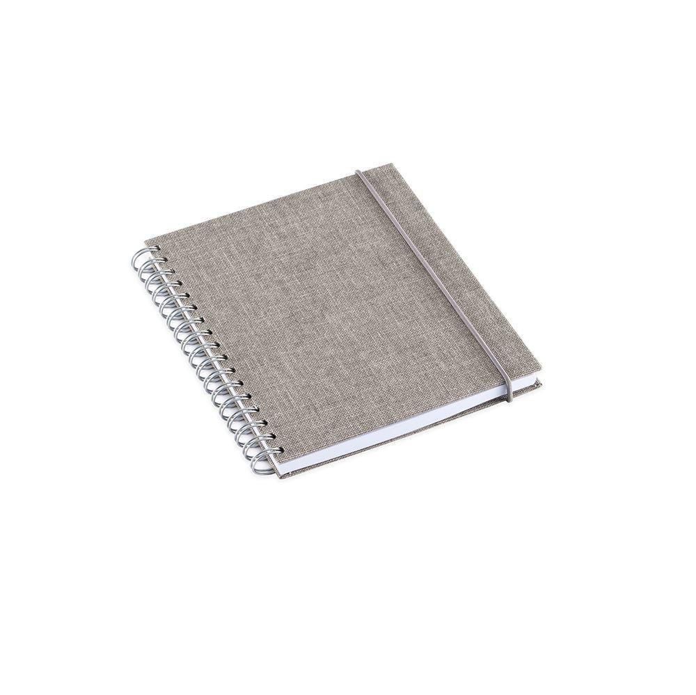 Notizbuch mit Ringbindung, Light grey