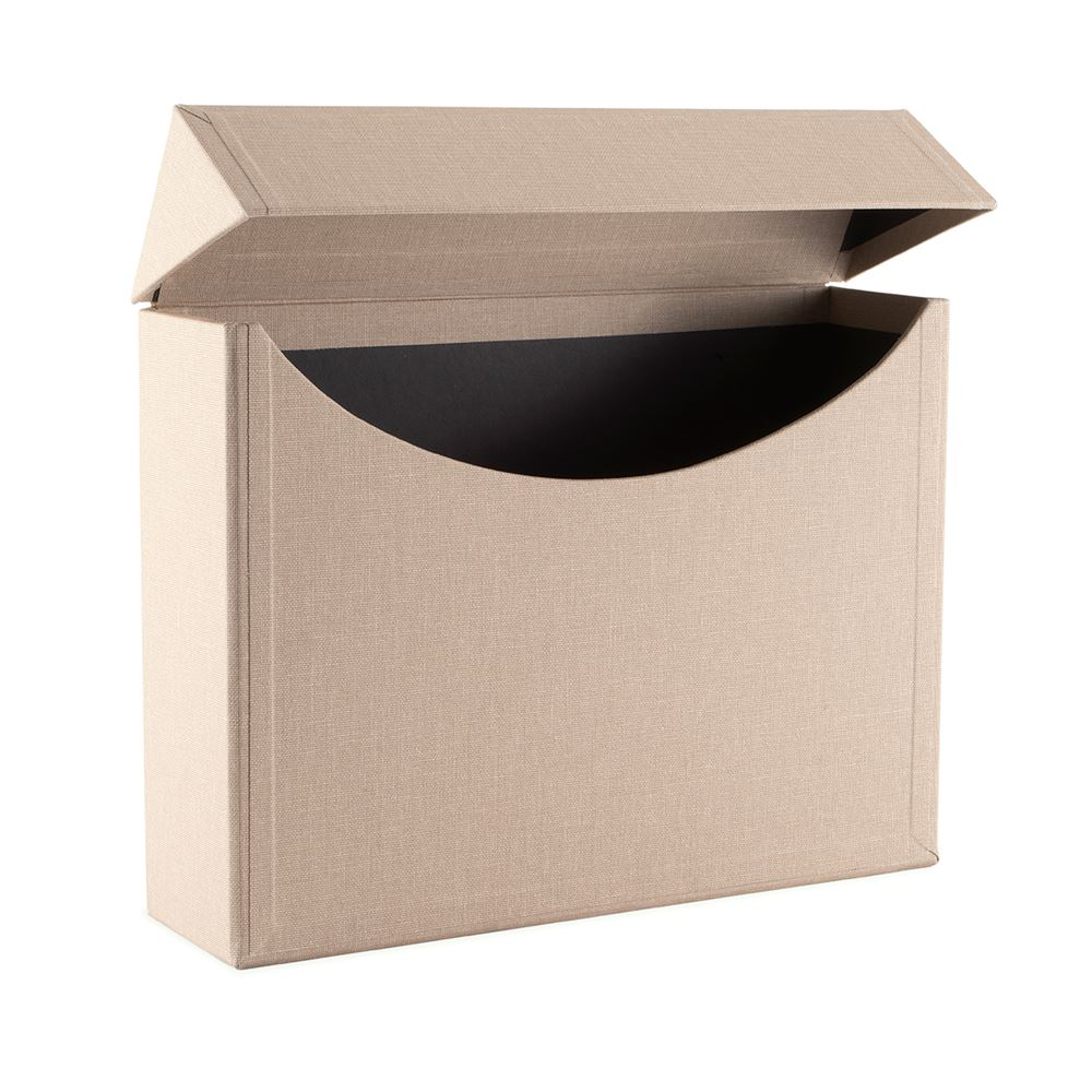 Archivbox, Sand Brown