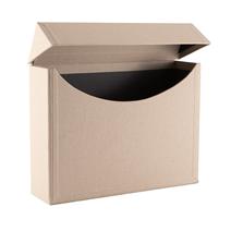 Filing Box, Sand Brown