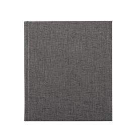 Notizbuch gebunden, Black/white