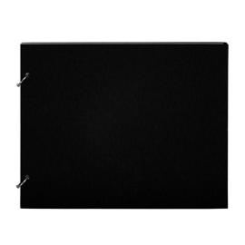 """Photo album """"Columbus"""" Black Medium Size 27 x 22 cm"""