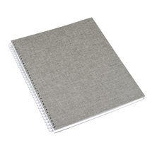 Notebook wire-o, Pebble grey