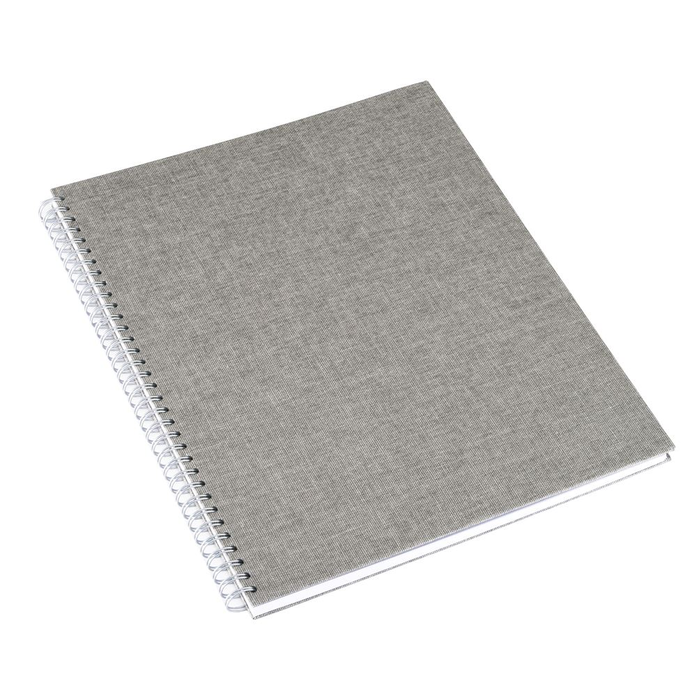 Notebook wire-o, Light grey