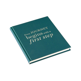 "Notebook ""Every journey"" Emerald Size 17 x 20 cm"