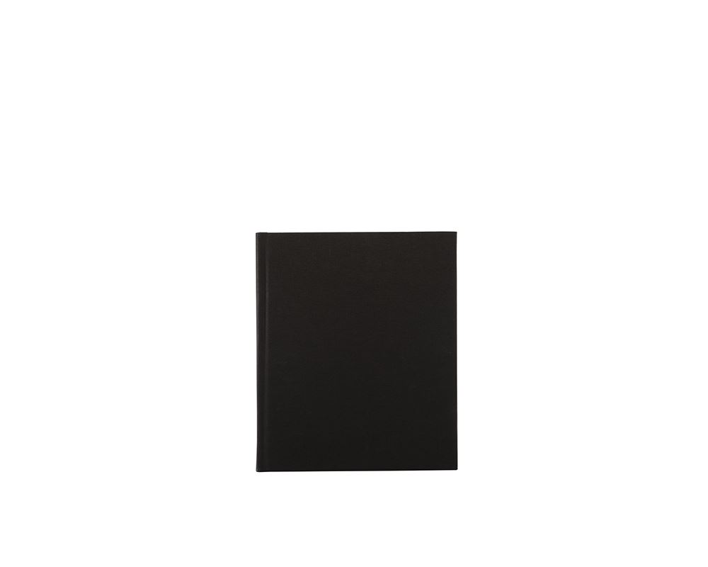 Carnet toilé, black