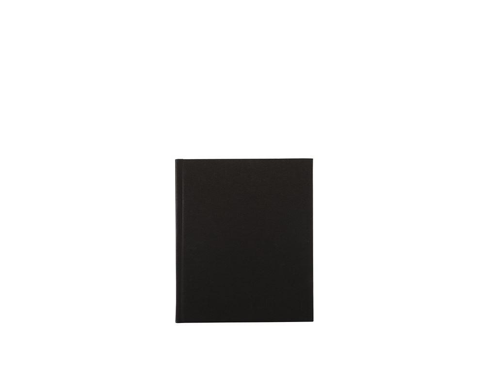 Carnet toilé, Black
