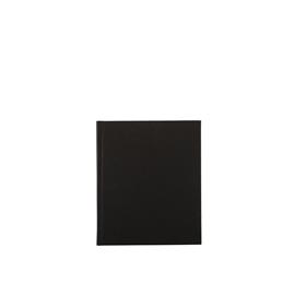 Notizbuch gebunden, Black