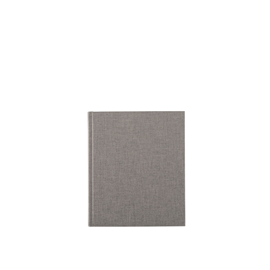 Carnet toilé, Pebble Grey
