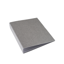 "Binder A4 ""Wide"" Light grey"