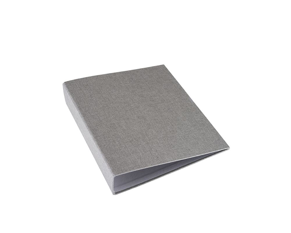 "Binder A4 ""Wide"" Light grey A4"