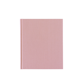 Notebook hardcover, Dusty pink