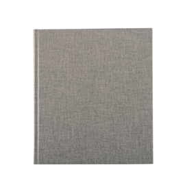 Notizbuch gebunden, Light grey