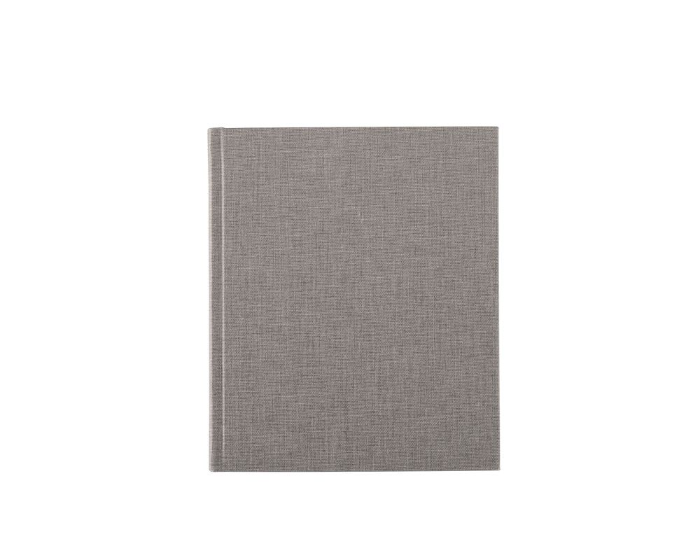 """Notebook Light grey """"Dotted Sheets"""""""