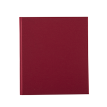Notizbuch gebunden, Rose red