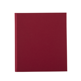 Carnet en toile, rose red