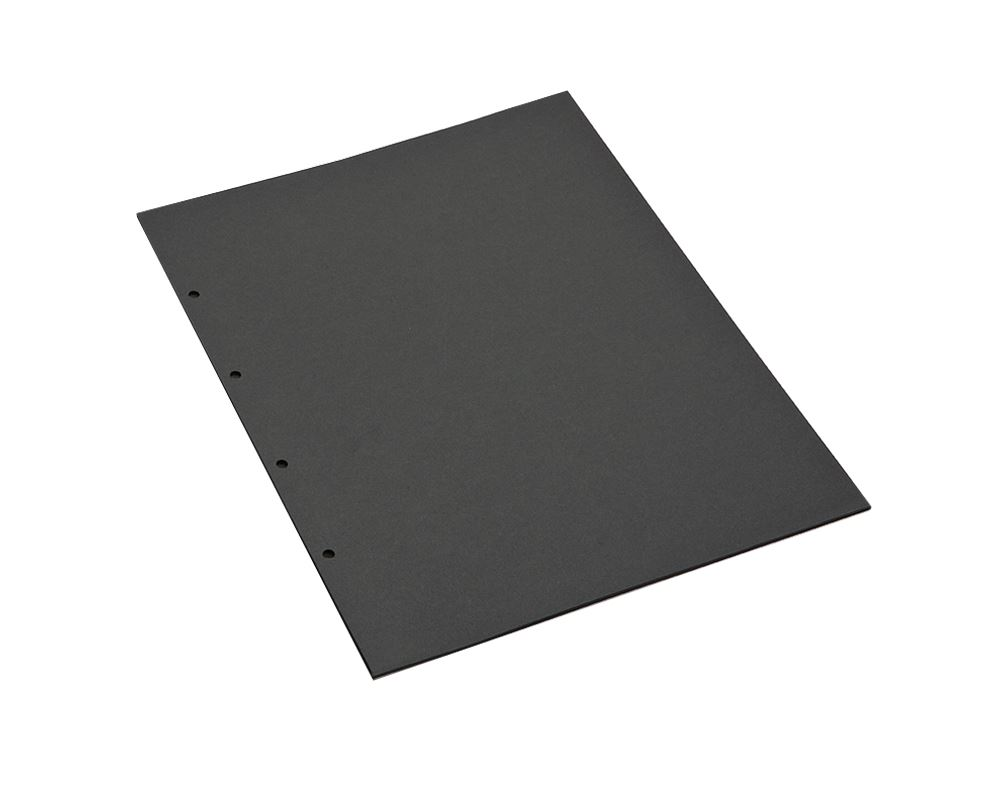 Fotopapier, schwarz