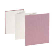 Accordion Album Dusty Pink