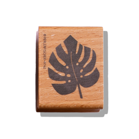 Stamp Monstera leaf