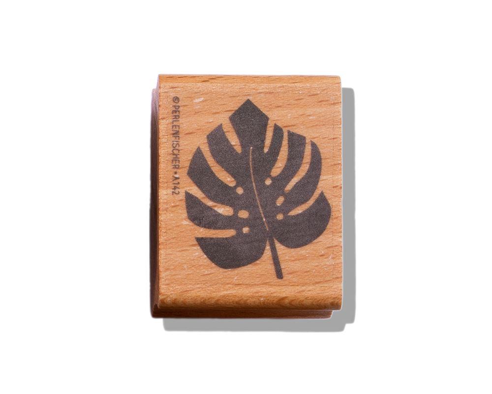 Stamp Monstera leaf