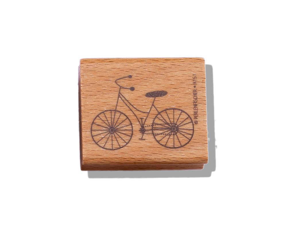 Stämpel Cykel