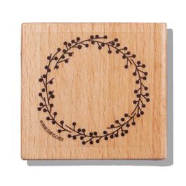 Stamp Berry wreath, Large C043